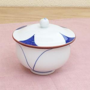 湯呑み 蓋付煎茶 八重花 湯飲み 湯呑み 業務用 有田焼 9d47406-738|shikisaionline