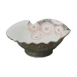 まるで貝殻のようなデザインで、豪華な印象の刺身皿です。お揃いの醤油小皿もご用意しています。 刺身や揚...