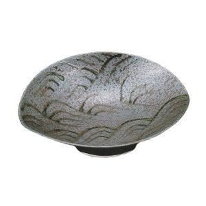 刺身皿 向付 焼〆波絵貝型 有田焼 和食器 業務用 9d49405-718|shikisaionline