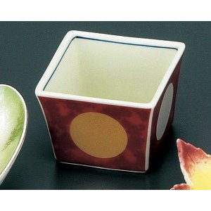 小鉢 赤濃金銀日月 珍味 有田焼 和食器 業務用 9d50109-718|shikisaionline