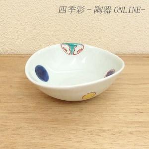 小鉢 花丸紋 変型小鉢 有田焼 和食器 業務用 9d49730-718|shikisaionline