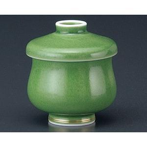 茶碗蒸し 緑釉新型 おしゃれ 和食器 業務用 有田焼 9d49902-718 shikisaionline