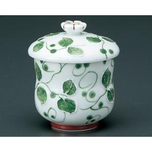 茶碗蒸し アイボリー一珍木立 おしゃれ 和食器 業務用 有田焼 9d49907-718|shikisaionline