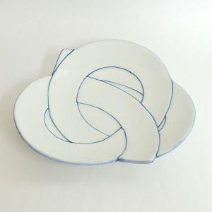 和皿 ごす線むすび皿 有田焼 和食器 業務用 9d49922-718|shikisaionline