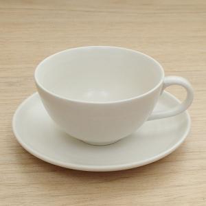 コーヒーカップソーサー 白 美濃焼 カフェ 食器 業務用 6...