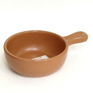グラタン皿 アヒージョ鍋 直火OK オレンジブラウン 日本製 8y730-18-714