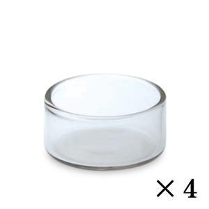 ガラスのジャム入れです。 業務用のミルクピッチャーです。  サイズ:Φ3.3×H1.6cm/約6cc...