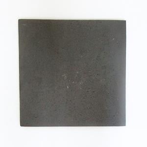 正角皿 ブラック 24cm ストーンウェアプレート 在庫限り