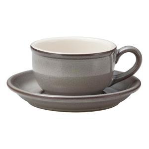 ティーカップソーサー ストームグレー カントリーサイド 業務用 美濃焼 洋食器|shikisaionline