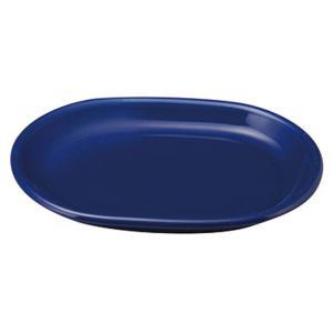 大皿 31.5cmプラター 楕円皿 サファイア カントリーサイド おしゃれ 洋食器 業務用 美濃焼 ...