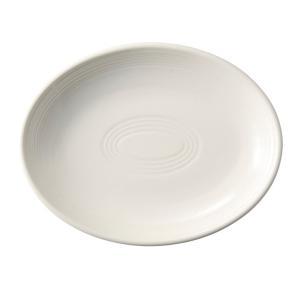 中皿 楕円皿 26cmプラター クラシックアイボリー オービット パスタ皿 おしゃれ カフェ 洋食器...