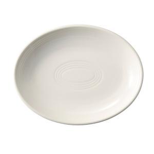 中皿 楕円皿 24cmプラター クラシックアイボリー オービット パスタ皿 おしゃれ カフェ 洋食器...