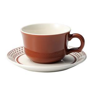 ティーカップソーサー ブラウン 洋食器 美濃焼 業務用|shikisaionline