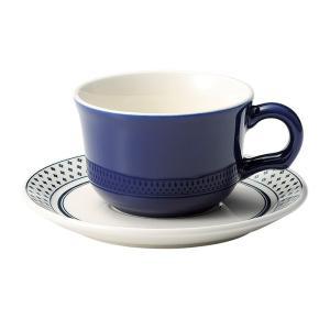 ティーカップソーサー ブルー 洋食器 美濃焼 業務用|shikisaionline