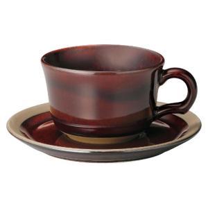 ティーカップ ソーサー オークブラウン カントリーサイド おしゃれ 洋食器 業務用 美濃焼|shikisaionline