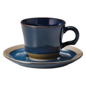コーヒーカップ ソーサー レイクブルー カントリーサイド おしゃれ 洋食器 業務用 美濃焼 shikisaionline