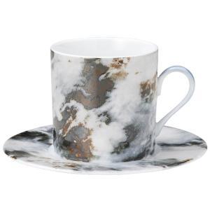 コーヒーカップソーサー マーブル マルキーナ カフェ 食器 業務用 shikisaionline