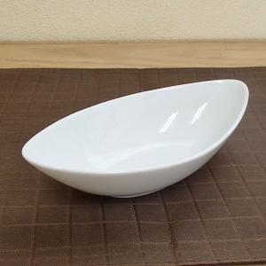 パスタ皿 カレー皿 21cmカヌーベーカー 白 マーレ 洋食器 おしゃれ 業務用 美濃焼