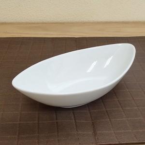 パスタ皿 カレー皿 18cmカヌーベーカー ホワイト マーレ 洋食器 おしゃれ 業務用 美濃焼