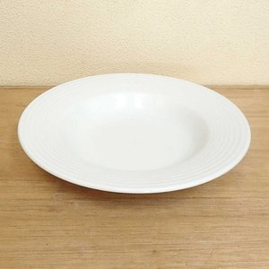 スープ皿 27cmリムスープボウル ピュアホワイト アルバ 洋食器 美濃焼 業務用 shikisaionline
