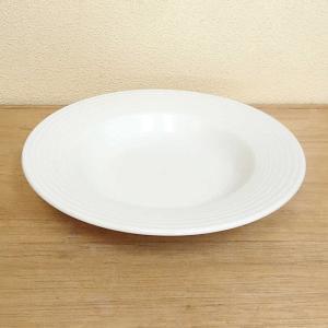 スープ皿 24cmリムスープボウル ピュアホワイト アルバ 洋食器 美濃焼 業務用 shikisaionline