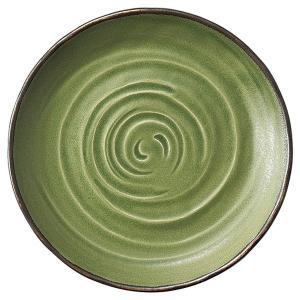 中皿 9寸丸皿 柳染 和食器 業務用 美濃焼 shikisaionline