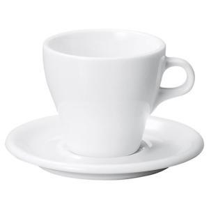 コーヒーカップソーサー 8オンス ラテカップ イラーレ 業務用 カフェ 食器|shikisaionline