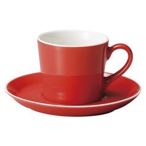 コーヒーカップ ソーサー ロッサ パシオン おしゃれ カフェ 食器 業務用 美濃焼 shikisaionline