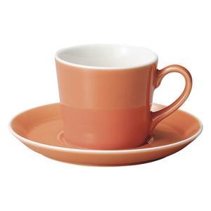 コーヒーカップ ソーサー オランジュ パシオン おしゃれ カフェ 食器 業務用 美濃焼 shikisaionline