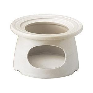 耐熱ワイドリムソースウォーマー ホワイト 固形燃料用 バーニャカウダ チーズフォンデュ用食器|shikisaionline