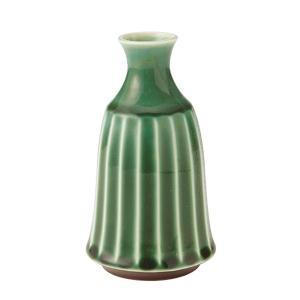 2合徳利 日本酒 酒器 緑 かすみ 和食器 美濃焼 業務用 shikisaionline