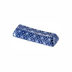 箸置き 5.7cm 藍七宝 おしゃれ 業務用 和食器 美濃焼|shikisaionline