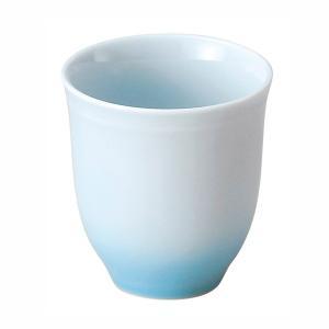 湯呑み 湯飲み 湯のみ茶碗 長湯飲み 青流 おしゃれ 和食器 業務用 美濃焼 shikisaionline