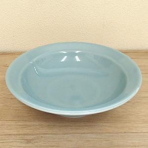 中華食器の定番、青磁の優しい色合いが魅力の6.0丸高台皿。 中華料理店でも人気の商品ですが、ご家庭で...