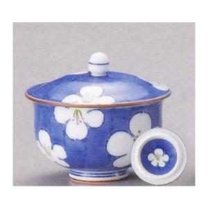 蓋付き湯呑み茶碗 5客セット 花雅 湯飲み 湯呑み 業務用 有田焼 9a562-3-93g-5s|shikisaionline