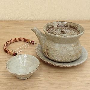 土瓶蒸し セット むさしの巾着型 土瓶むし 万古焼 業務用 5y620-19-713|shikisaionline