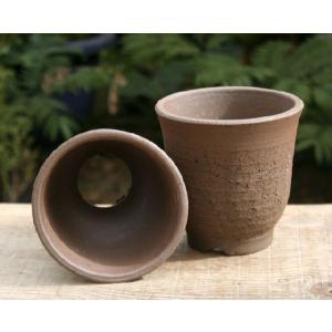 初心者向け砂入り山野草鉢 3.5号(2個組み)|shikoku-garden