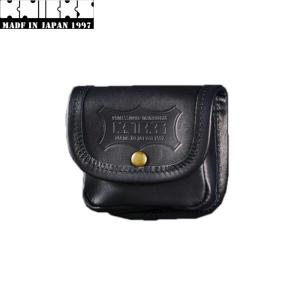 KNICKS ニックス KBS-100BOX ヌメ革小物ポーチ ブラック(黒) ◆ shima-takatsuki