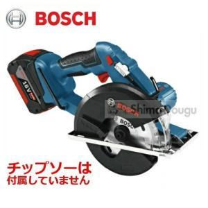 ボッシュ 135mmバッテリーチップソーカッター(※チップソー別売) GKM18V-LI 18V(6...