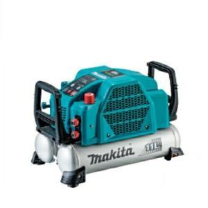 【makita】マキタ<業界初のデジタル吐出圧計を新搭載> 高圧エアコンプレッサ(タンク容量:11L...