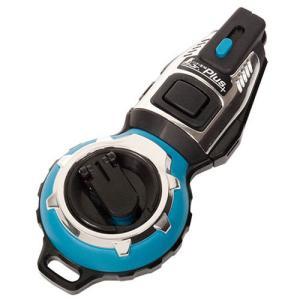 シンワ測定 ハンディ墨つぼJr.Plus手巻 ターコイズブルー 73285