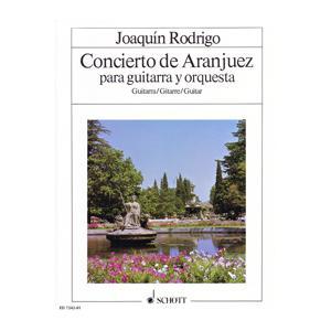 楽譜 SW1084 ホアキン・ロドリーゴ アランフェス協奏曲(ギターソロ譜) / ショット・ミュージック