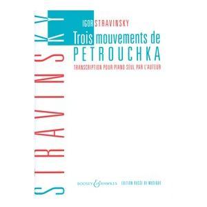 楽譜 SW3060 イゴール・ストラヴィンスキー ペトルーシュカからの3楽章 / ショット・ミュージック