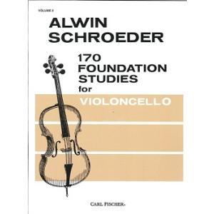 シュレーダー : 170の基礎的な練習曲 第2巻 / カール・フィッシャー社