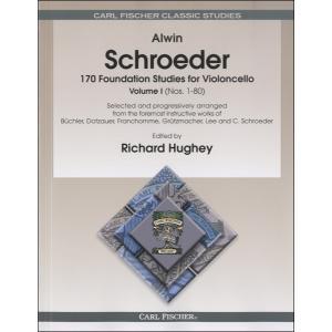 シュレーダー : 170の基礎的な練習曲 第1巻 / カール・フィッシャー社