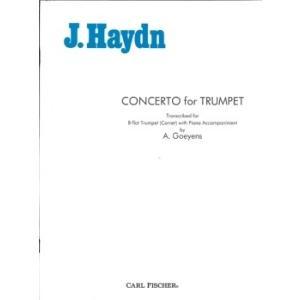 ハイドン : トランペット協奏曲 変ホ長調 Hob.V2e/1 / カール・フィッシャー社