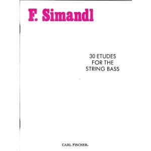 シマンドル : 30の練習曲 / カール・フィッシャー社