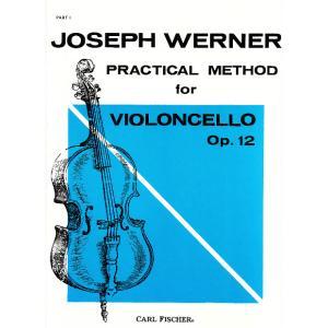 GYS00072361 ウェルナー : チェロ教本 Op.12 第1巻 / カール・フィッシャー社