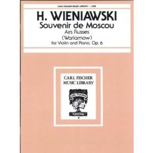 GYS00072770 ウィニアウスキ : モスクワの思い出 Op.6 / カール・フィッシャー社