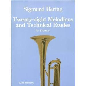 GYW00072904 ヘリング : 28の旋律的で技巧的な練習曲 / カール・フィッシャー社
